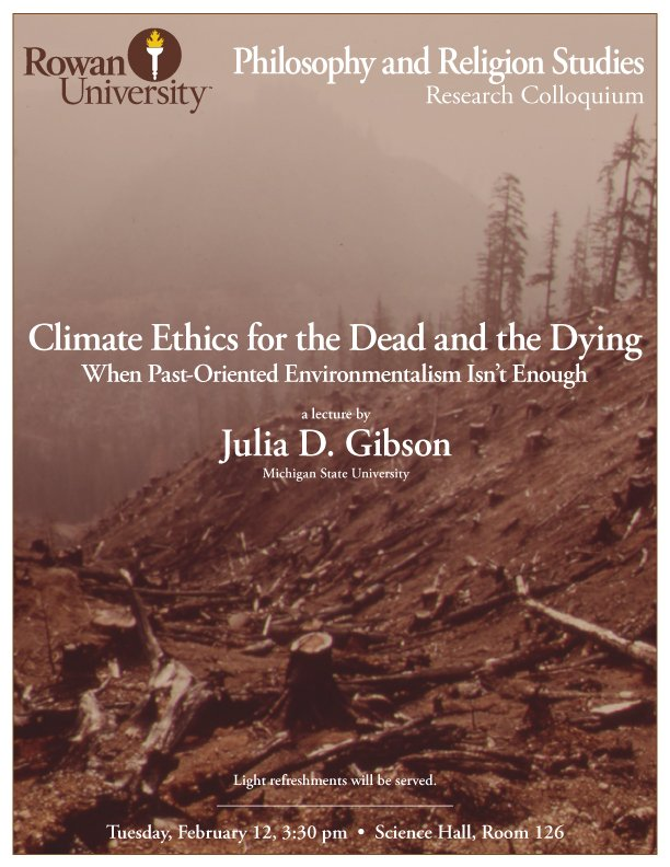 Climate Ethics for the Dead and the Dying