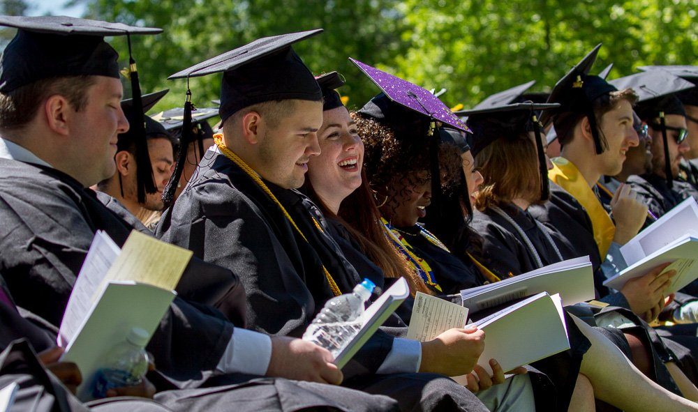 2018 Rowan Graduates at Commencement