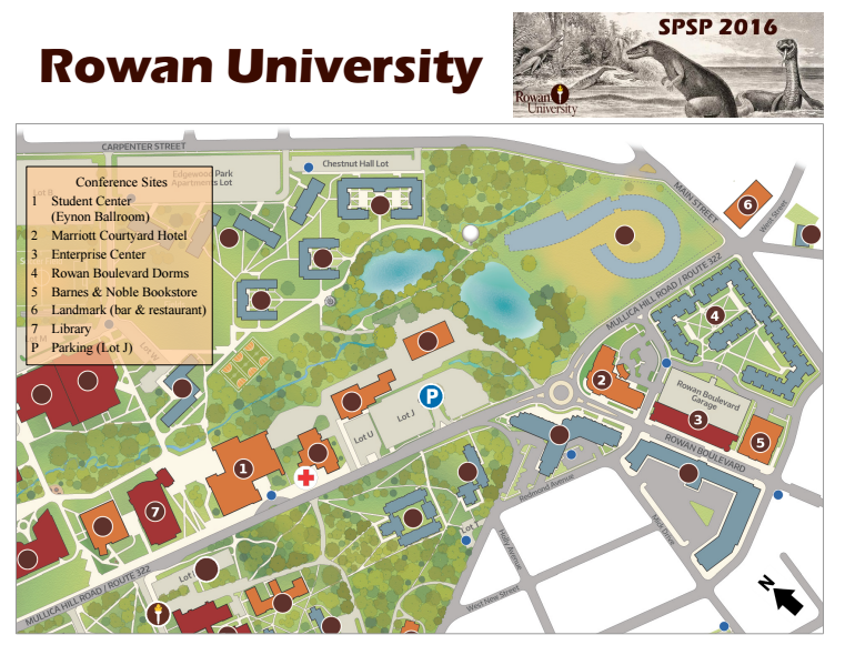 map of rowan university campus Rowan University Spsp Conference College Of Humanities And map of rowan university campus