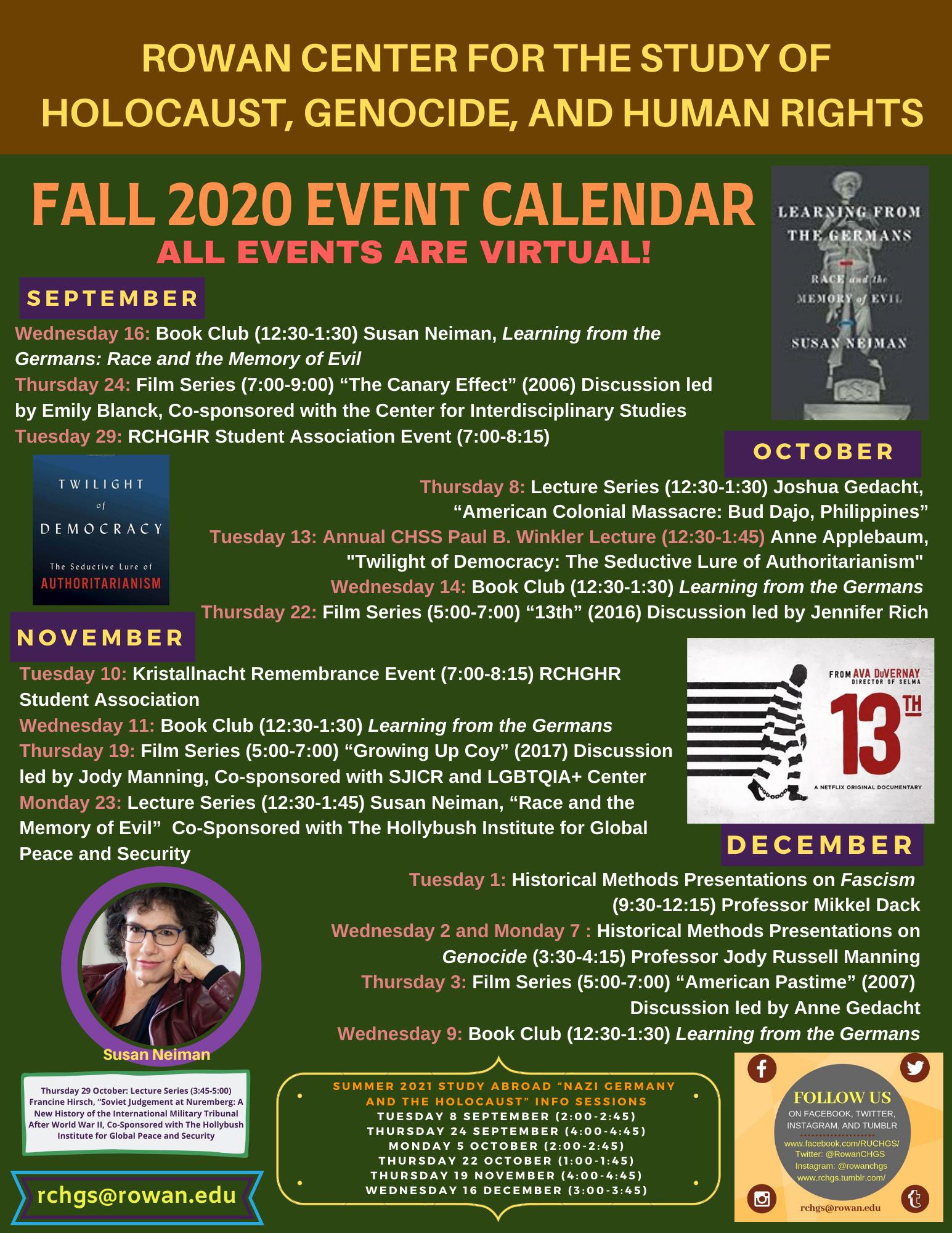 Rowan Academic Calendar 2021 RCHGHR Home | College of Humanities and Social Sciences | Rowan